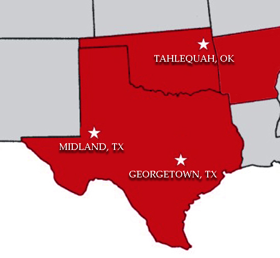 Drilling Rig & Construction Equipment in Midland & Georgetown, TX or Tahlequah, OK